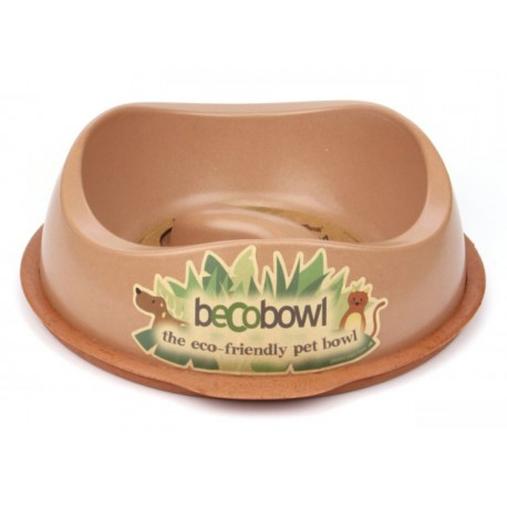 Beco Bowl Slow Feed L hnědá