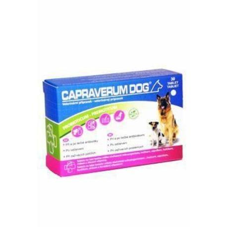 CAPRAVERUM DOG probioticum-prebioticum 30tbl