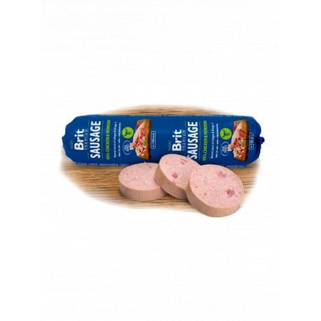 Přidat k oblíbeným položkám Brit Sausage Chicken & Venison 800g New