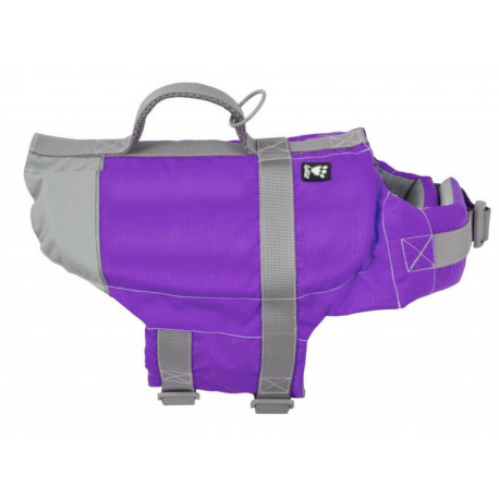 Vesta plavací Hurtta Life Savior 20-40kg fialová