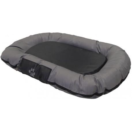 Nobby RENO odolný polštář pro psy černá 80x58x10cm