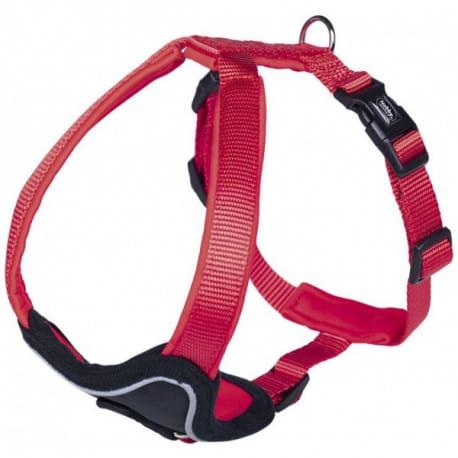 Nobby CLASSIC PRENO hrudní postroj XL červená