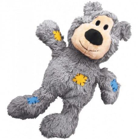 Kong Knots odolné přetahovadlo medvěd vel. M/L 36cm
