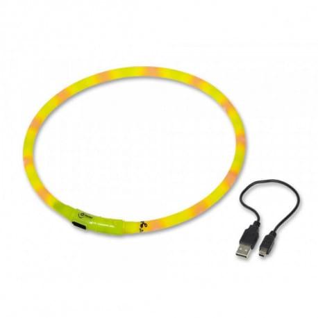 Nobby Led Visible svítící obojek silikon 70cm