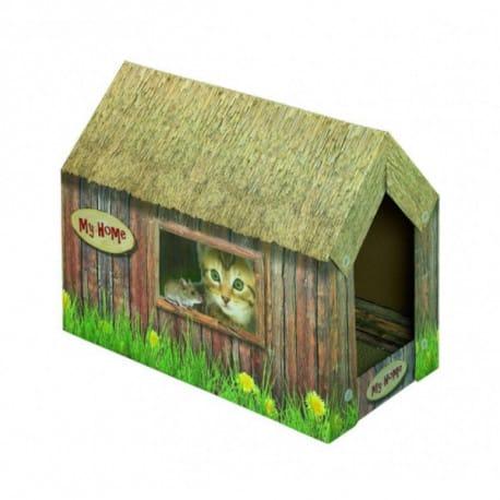 Nobby domeček z kartonu 49x26x36cm
