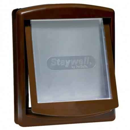 Staywell 755 dvířka plast hnědá 35x29cm