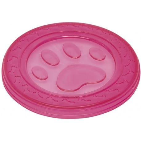 Nobby hračka pro psy termoplastická guma frisbee růžo
