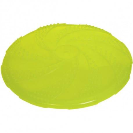 Nobby gumová hračka pro psa frisbee žluté 22 cm