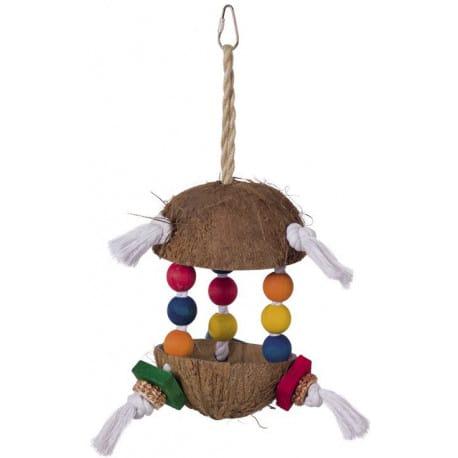 Nobby hračka pro papoušky kokos 34x15cm