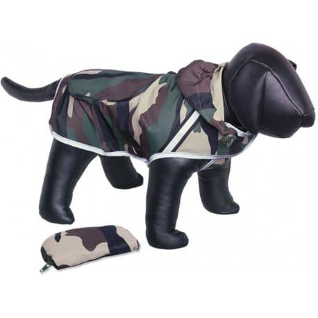 Nobby Rainy maskáčová reflexní pláštěnka pro psa 26cm