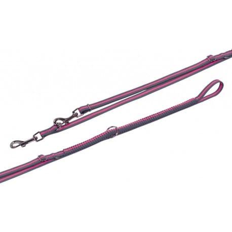 Nobby VARIADO vodítko s amortizérem XS-S 210-240cm růžová