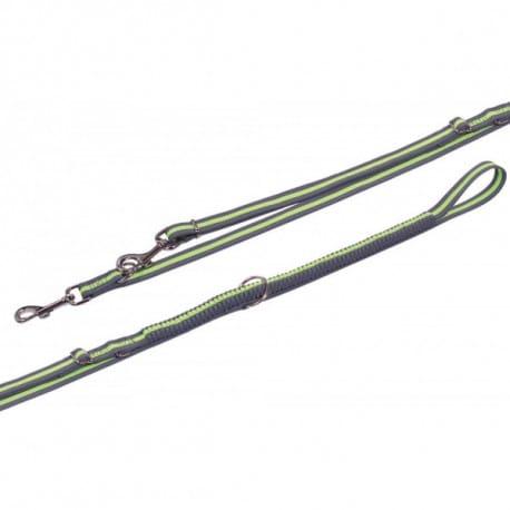 Nobby VARIADO vodítko s amortizérem M-L 210-240cm žlu