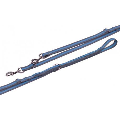 Nobby VARIADO vodítko s amortizérem L-XL 210-240cm modrá