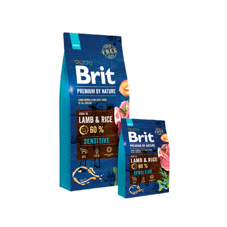 Brit Premium Dog by Nature Sensitive Lamb 3kg