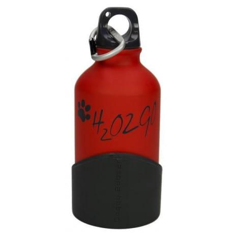 Láhev na vodu H2O2GO - 350 ml - červená