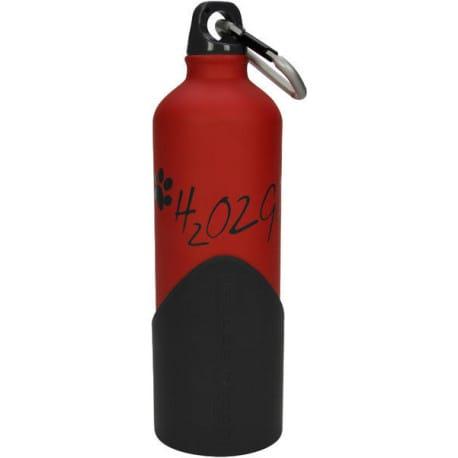 Láhev na vodu H2O2GO - 750 ml - červená