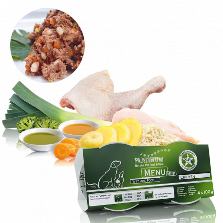Platinum Menu Mini Chicken 4x100g