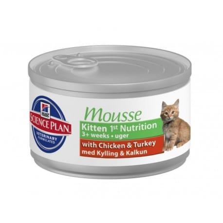 Hill's Feline  konz. Kitten Mousse 85g