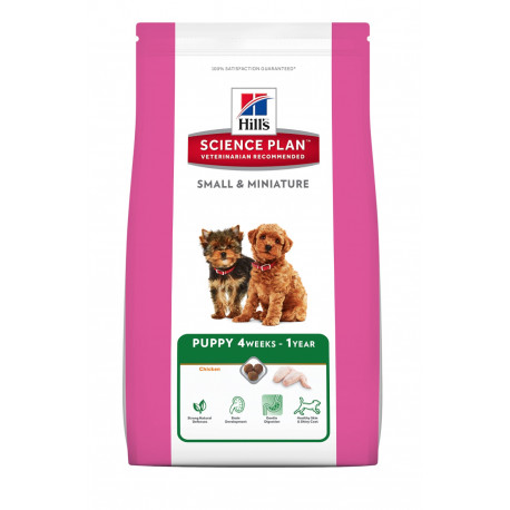 Hill's Canine Dry Puppy Small Miniature 1,5kg