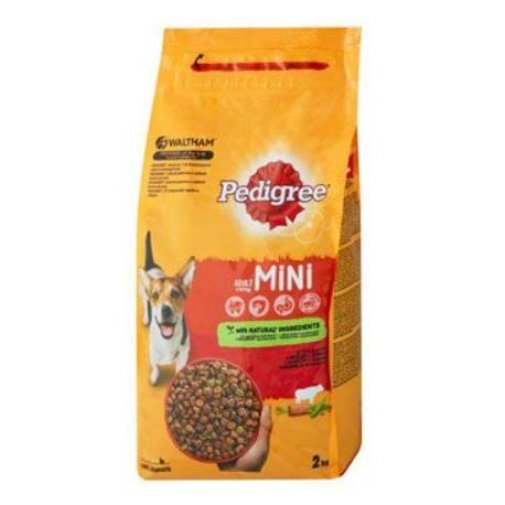 Pedigree Dry Adult Mini hovězí a zelenina 2kg