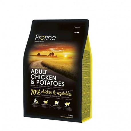 Profine NEW Dog Adult Chicken & Potatoes 3 kg