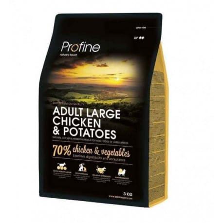 Profine NEW Dog Adult Large Chicken & Potatoes 3 kg