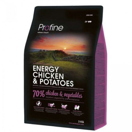 Profine NEW Dog Energy Chicken & Potatoes 3 kg