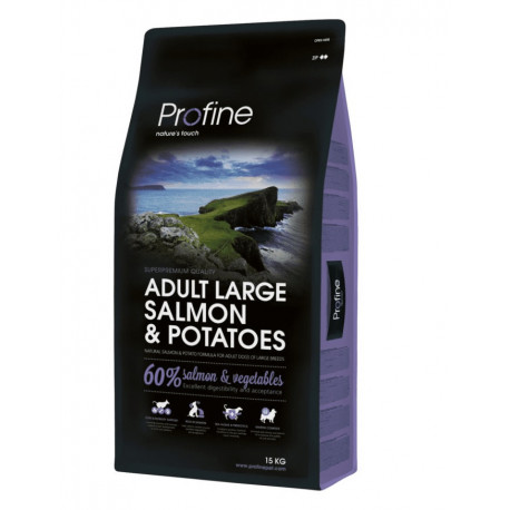 Profine NEW Dog Adult Large Salmon & Potatoes 15 kg