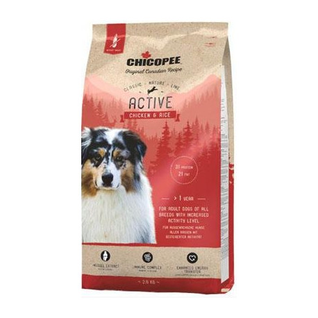 Chicopee Classic Nature Active Chicken-Rice 15kg