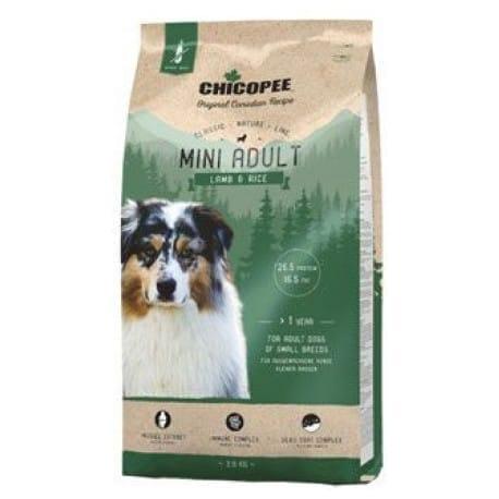 Chicopee Classic Nature Mini Adult Lamb-Rice 15kg