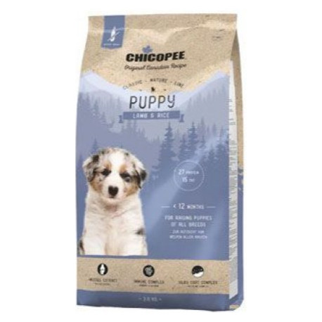 Chicopee Classic Nature Puppy Lamb-Rice 15kg