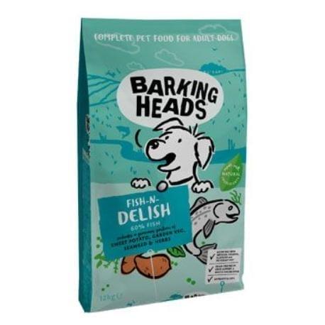 BARKING HEADS Fish-n-Delish NEW 12kg
