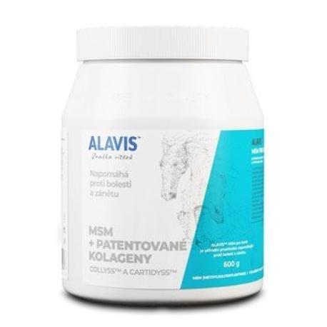 Alavis MSM pro koně s Vitaminem C plv 600g