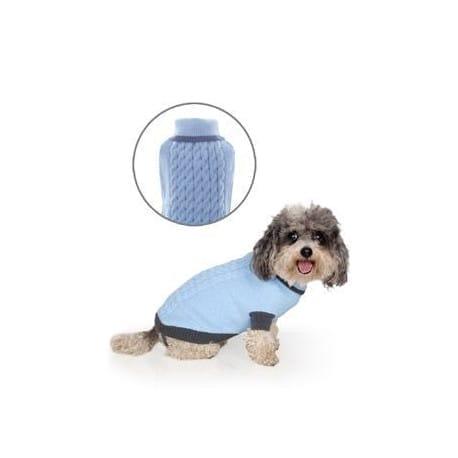 Svetr Liverpool pro psy modrý 35cm
