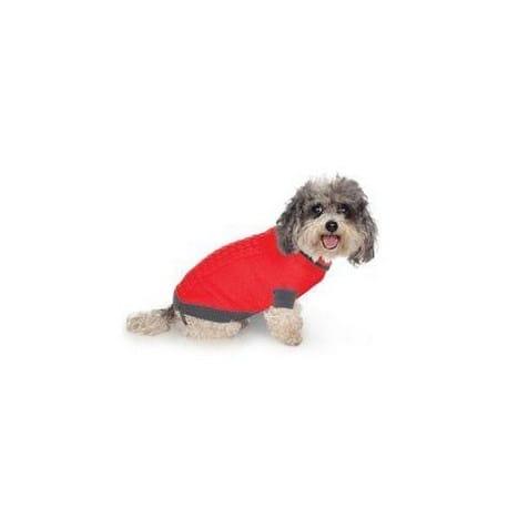 Svetr Liverpool pro psy červený 30cm