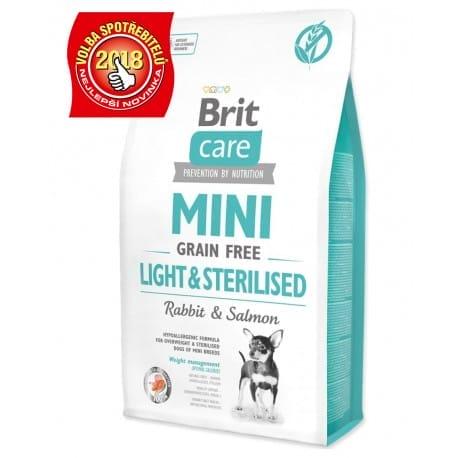 Brit Care Dog Mini Grain Free Light & Sterilised 2kg