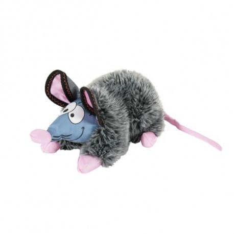 Hračka pes GILDA RAT plyš šedá 44cm Zolux