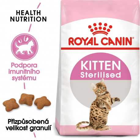 Royal canin Kom. Feline Kitten Sterilised  2kg