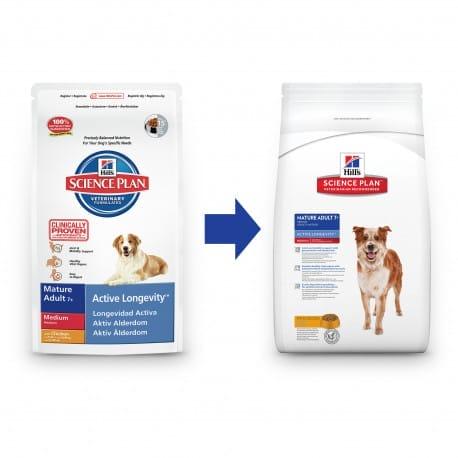 Hill's Canine Dry Senior 3kg