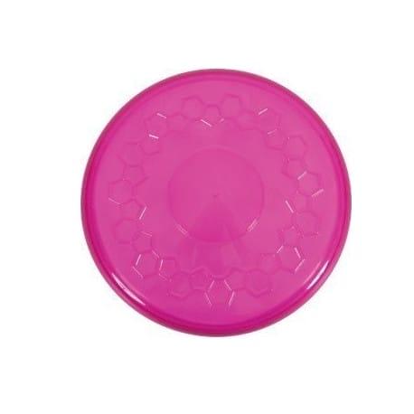 Hračka pes FRISBEE TPR POP 23 cm růžová Zolux