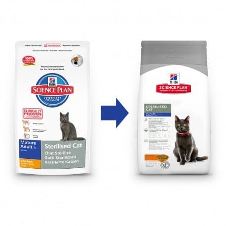 Hill's Feline Dry Adult Mature 7+ Sterilized 1,5kg