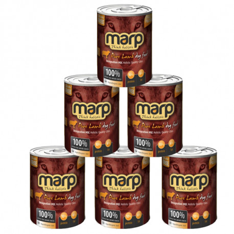 Marp Holistic Pure Lamb konzerva pro psy 6x400g