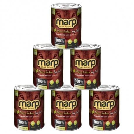 Marp Holistic Pure Chicken konzerva pro psy 6x800g