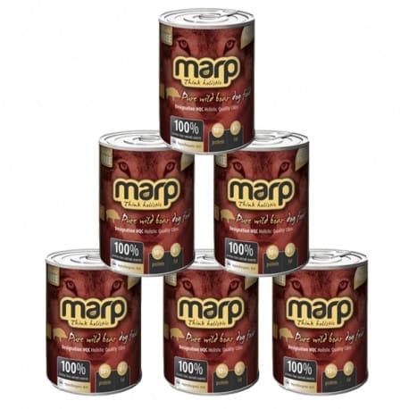 Marp Holistic Pure Wilde Boar konzerva pro psy 6x400g