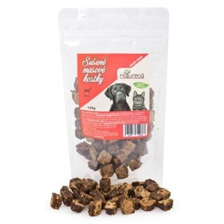 NATURECA pochoutka Masové kostky-Jehně, 100%maso 150g