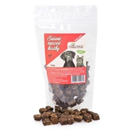 NATURECA pochoutka Masové kostky-Zajíc, 100%maso 150g