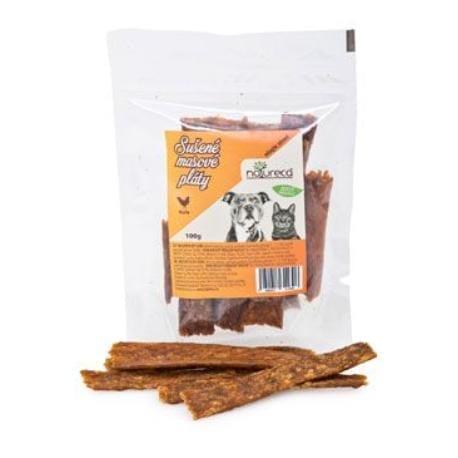 NATURECA pochoutka Masové pláty - Kuře, 100%maso 100g