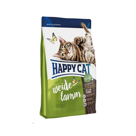 Happy Cat Supr.Adult Fit&Well Weide-Lamm 1,4kg