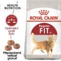 Royal Canin Fit granule pro správnou kondici koček 4kg