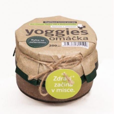 Yoggies Omáčka pro psy s rybou a kořenovou zeleninou